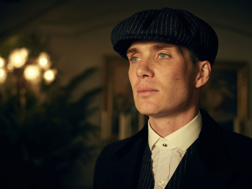 Cillian Murphy as Thomas Shelby in Peaky Blinders