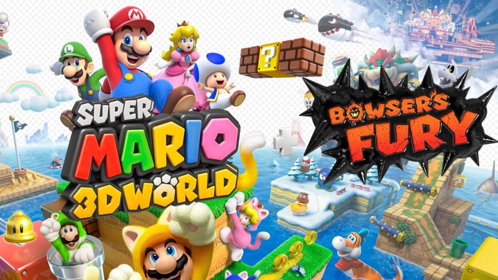 Super Mario 3D World + Bowser's Fury art work