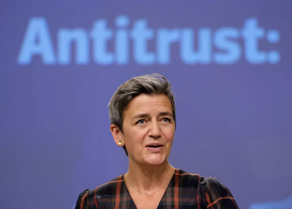 European Executive Vice- President Margrethe Vestager